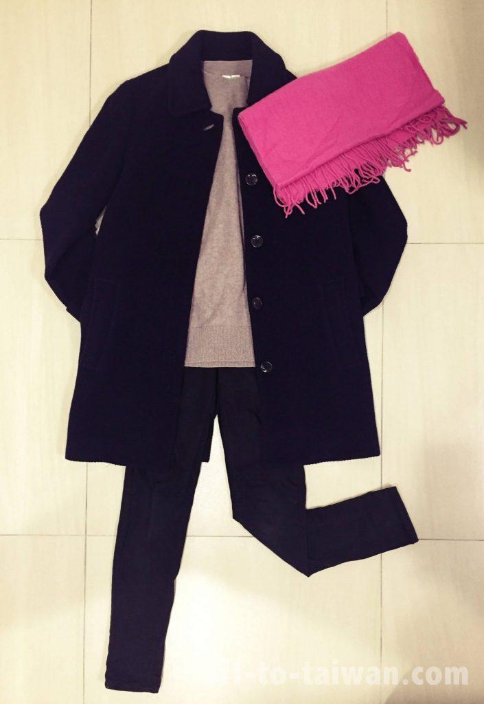 台湾冬の服装